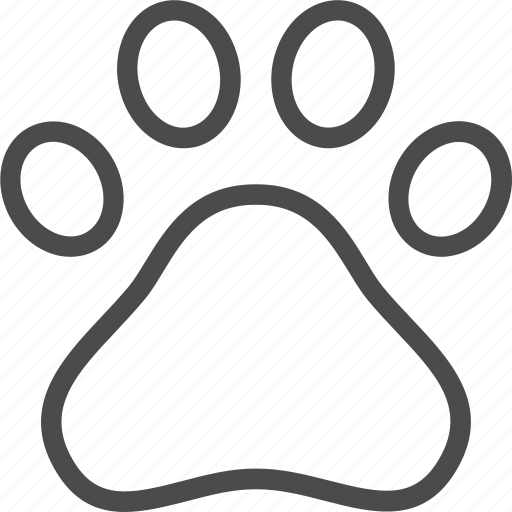 animal, animals, cat, dog, paw, pet, pets icon