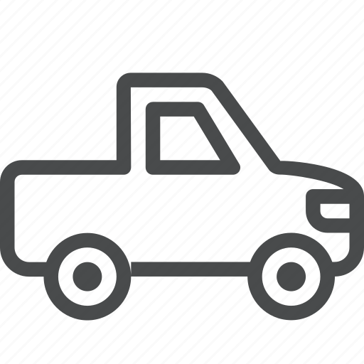 automobile, car, pickup, transportation, truck, vehicle icon