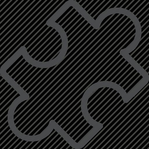 connect, connection, piece, plugin, puzzle icon