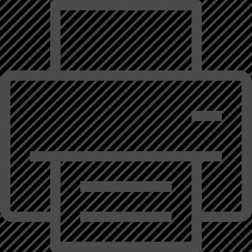 document, pdf, print, printer, printing icon