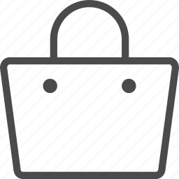 accessory, handbag, purse, shop, shopping icon