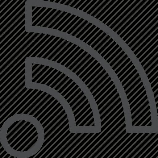 blog, feed, rss, social icon