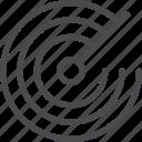 radar, gps, locate, satellite icon