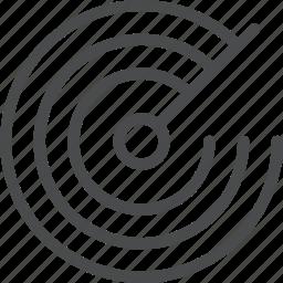 gps, locate, radar, satellite icon