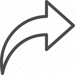 email, forward, next, reply icon