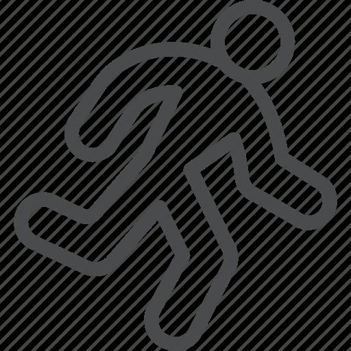activty, cardio, person, run, runner, running icon