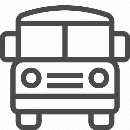 Bus, school, transportation, vehicle icon - Download on Iconfinder