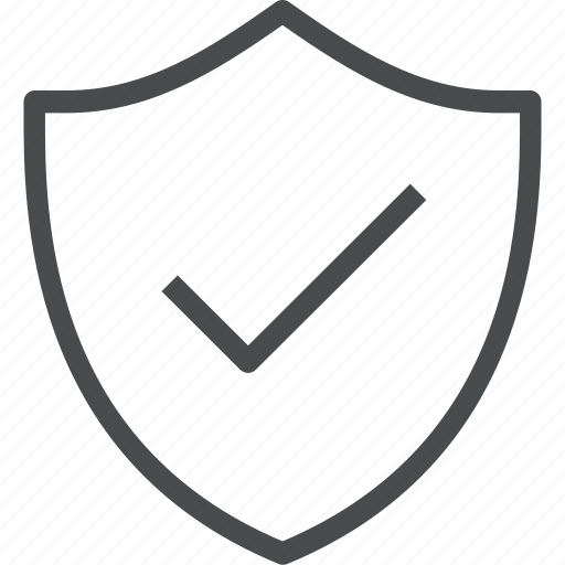 locked, protect, protection, safety, secure, security, shield icon