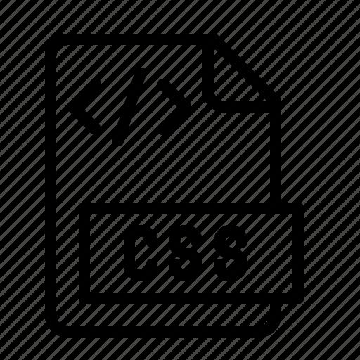 cascading, css, file, ios, sheet, style, type icon