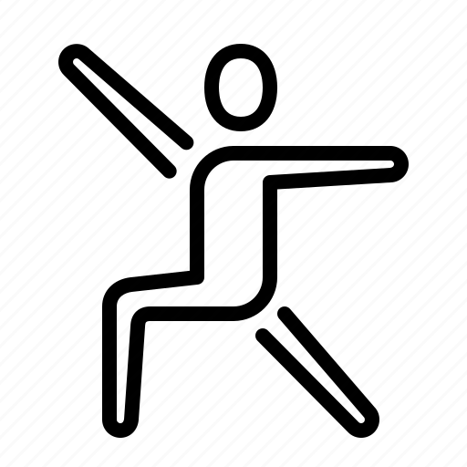 athletic, choreography, dance, elegant, gymnastics, ios, routine icon