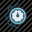 clock, cogwheel, management, mechanism, optimization, technology, transmission icon