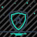 armature, armor, defense, guard, protection, security, shield icon