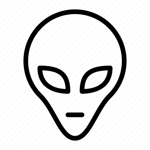 alien, extra, ios, space, stranger, terrestrial, visitor icon