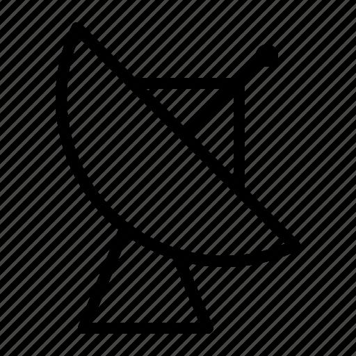 antenna, communicate, ios, receiver, satellite, satellite dish, transmit icon