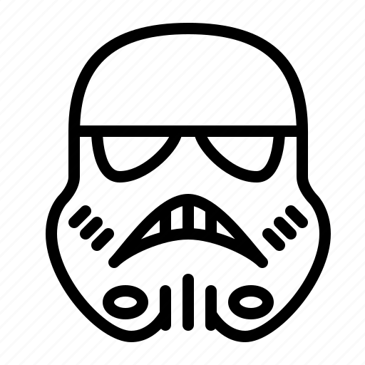 fiction, ios, sci-fi, science, star, stormtrooper, wars icon