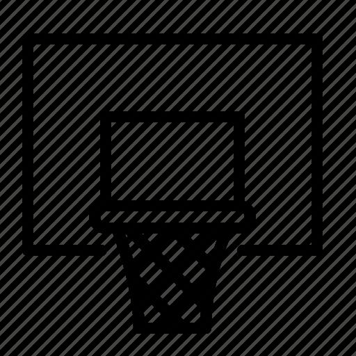 backboard, basketball, game, hoop, ios, net, sport icon