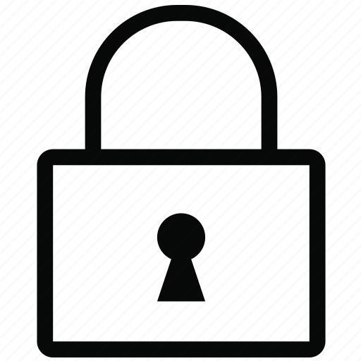 locked, privacy, safety, secure, security, unlock icon