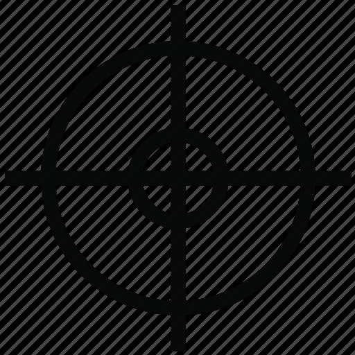 aim, dart, focus, goal, target2 icon