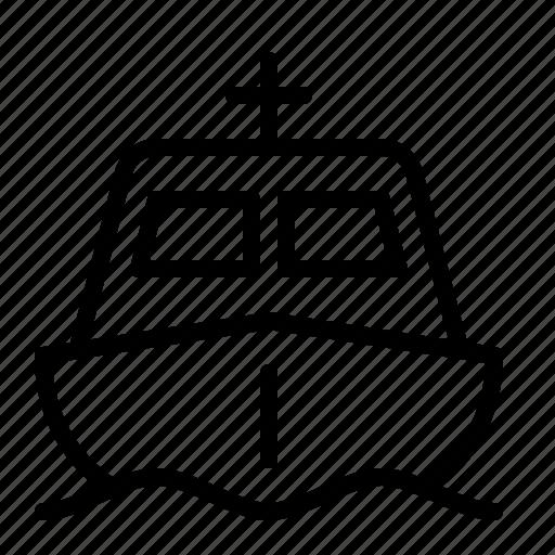 boat, fish, fishing, ios, ocean, sea, vessel icon