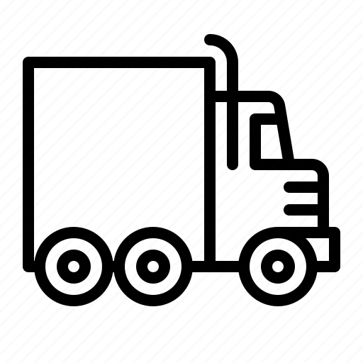 cargo, ios, logistics, lorry, transport, transportation, truck icon