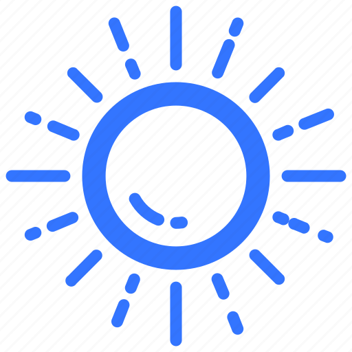 cloudless, forecast, sun, sunny, unclouded, weather icon