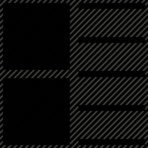 diagram, item, li, list, list item, report, ul icon icon