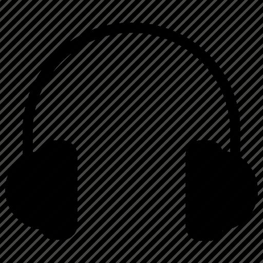 chat, communication, ear, head, headset, phone, radio icon icon icon