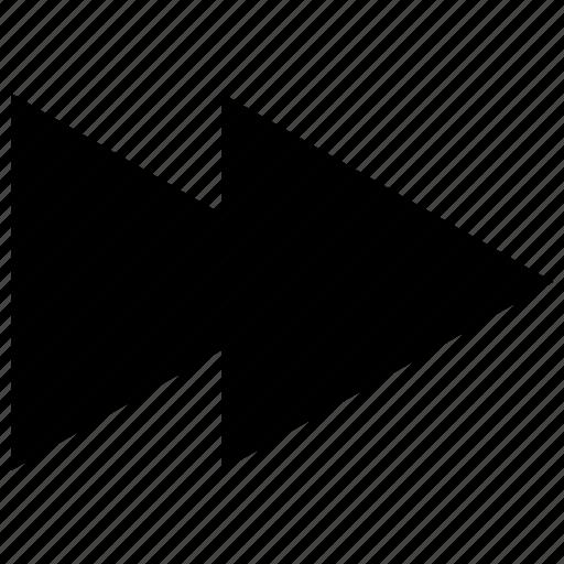 arrows, direction, fast, forward icon, orientation icon