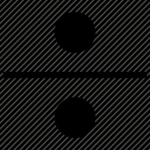 divide, division, dote, square icon icon