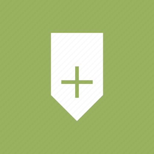 add, badge, bookmark, mark, ribbon, save icon