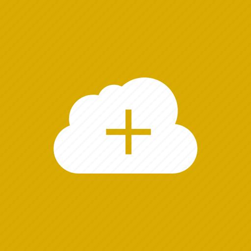 add, cloud, computing, create, new, plus icon