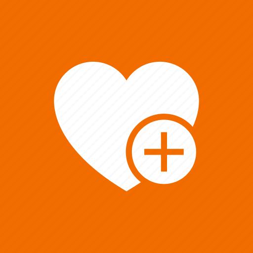add, favorites, heart, love, romance, wedding icon