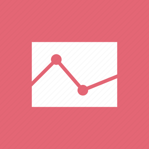 analysis, chat, comparison, finance, graph, polylines icon
