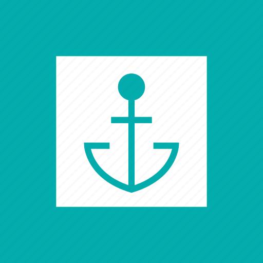 anchor, boat, marine, nautical, ship, slor, tattoo icon