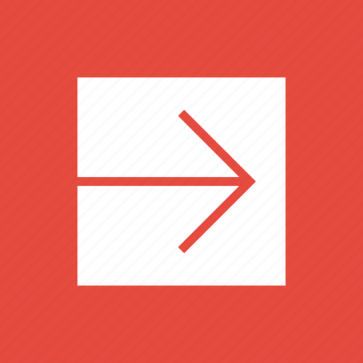 arrow, direction, navigation, next, right icon