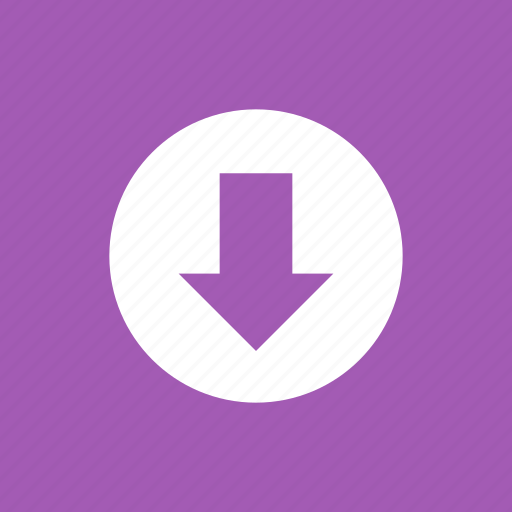 arrow, down, download, downloading, downloads, save icon