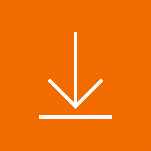 arrow, down, download, downloading, save, storage icon