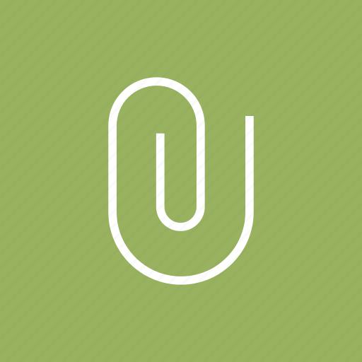 attach, attachment, material, office, school, tools icon