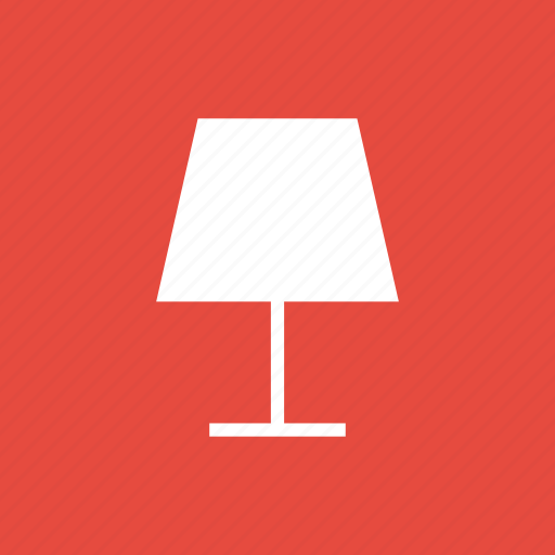 bedroom, desk, electronic, lamp, table icon