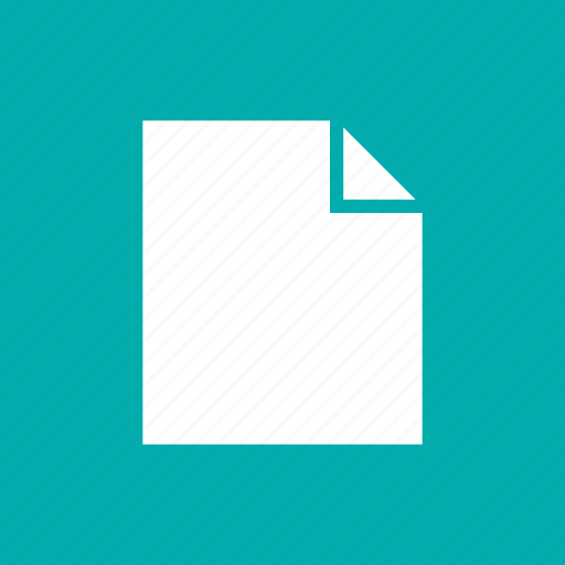 blank, document, file, page, paper icon