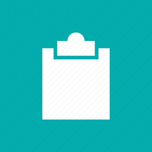 board, buffer, clip, clipboard, form, poll, survey icon
