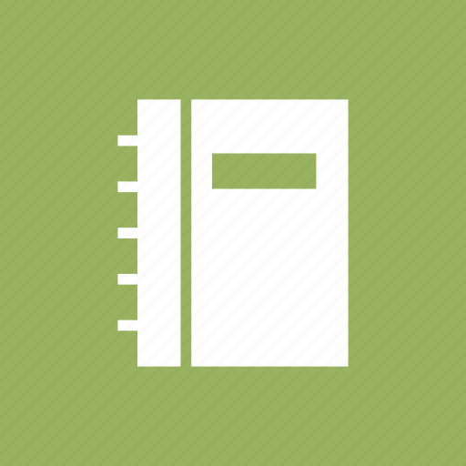 bookmark, business, contacts, library, notebook, phone icon