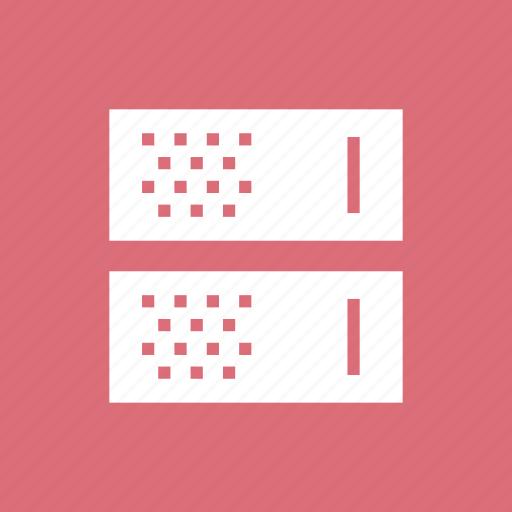 center, data, database, hosting, rack, server, storage icon