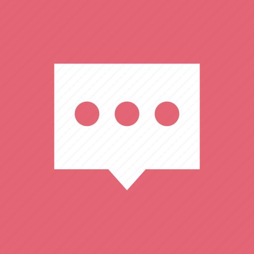 bubble, comment, message, negotiate, speech, talk icon