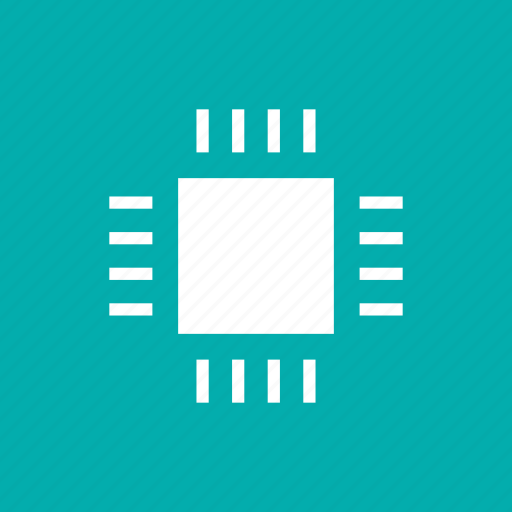 computer, cpu, electronic, microchip, processor, sys icon