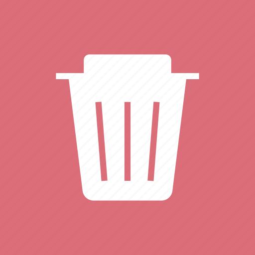 delete, dustbin, empty, recycle, recycling, remove, trash icon
