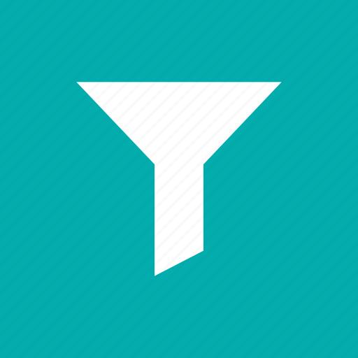 descending, filter, filtering, funnel, sort, tool icon