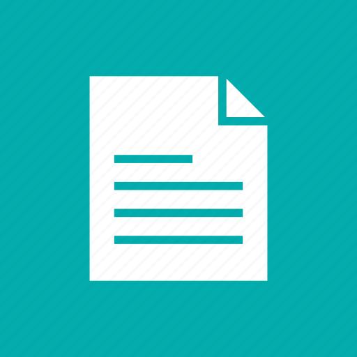 archive, attach, contract, document, edit, file, paper icon
