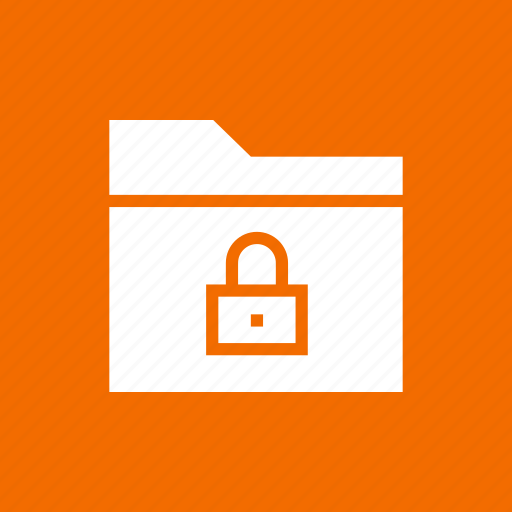 block, folder, group, lock, locked, secure, security icon