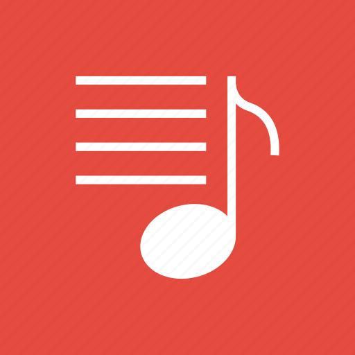 list, multimedia, music, player icon